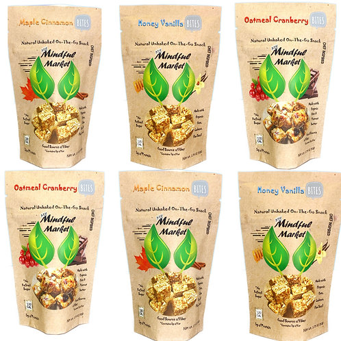 6 Bag Family Pack Mindful Bites (1.75 oz.)
