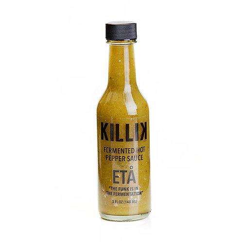 Killik Fermented Hot Sauces Eta
