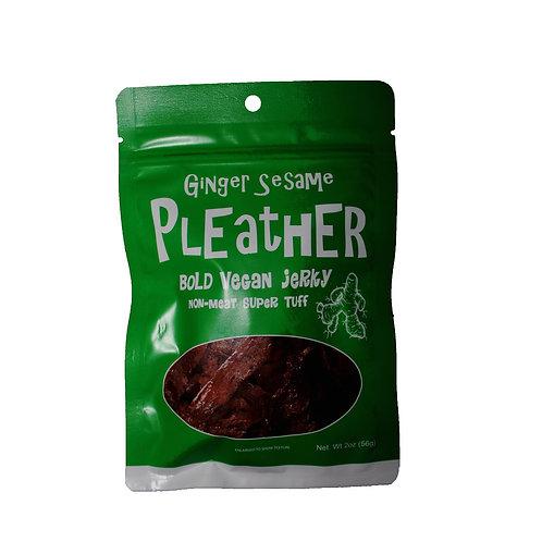 Pleather Bold Vegan Jerky Ginger Sesame