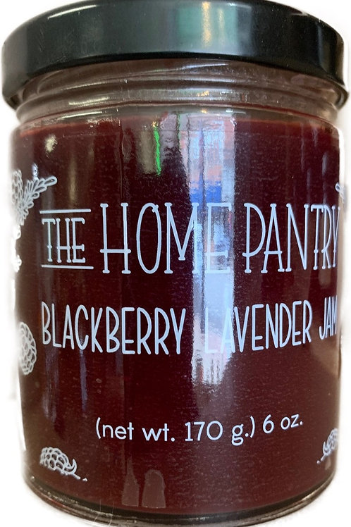 The Home Pantry Jams Blackberry Lavender