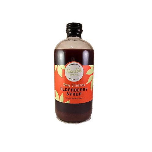 Health Junkie Elderberry Syrup Sassy Cinnamon