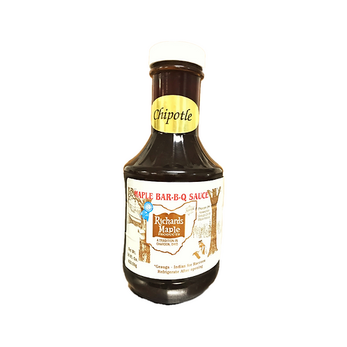Richards Maple Chipotle BBQ Sauce