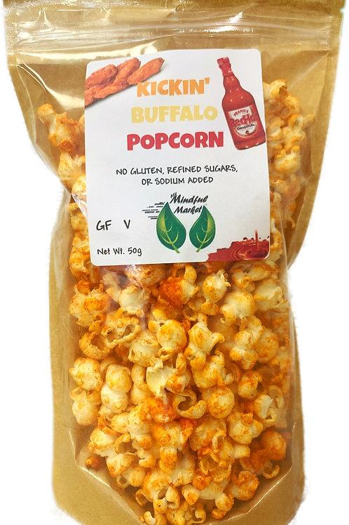 Kickin' Buffalo Mindful Popcorn