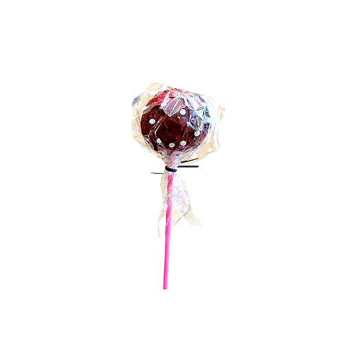 Mindful Chocolate Strawberry Cake Pop