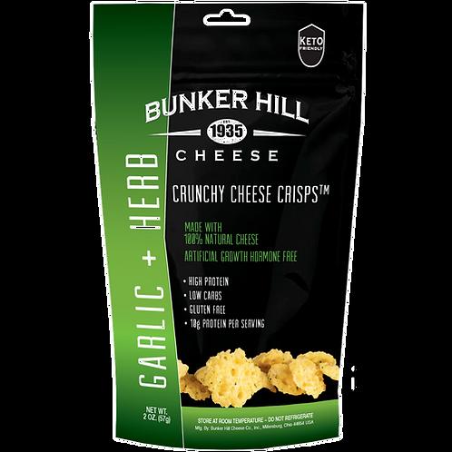 Bunker Hill Cheese Crisps Garlic & Herb