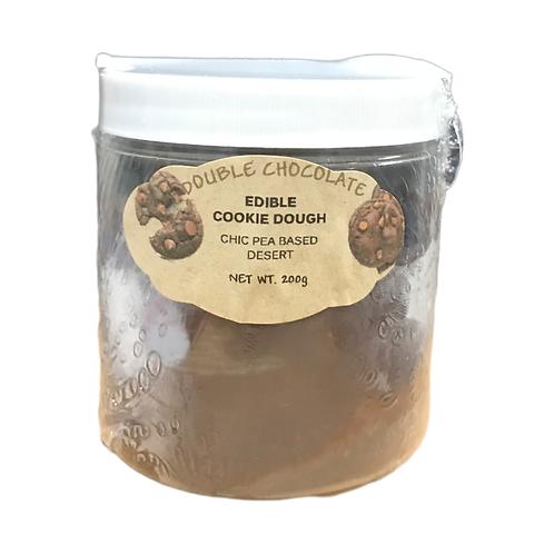 Mindful vegan cookie dough -  Double Chocolate