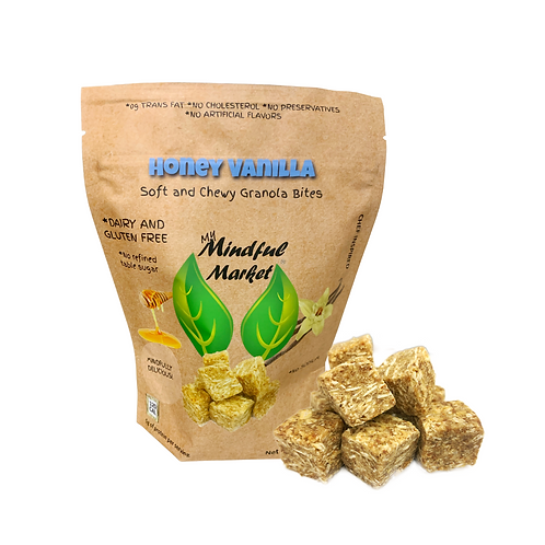 Honey Vanilla Bites (Four-Serving Bag) 7 oz.