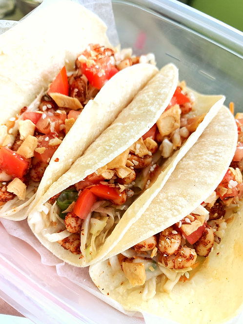 White Bean and Sweet Chili Street Tacos