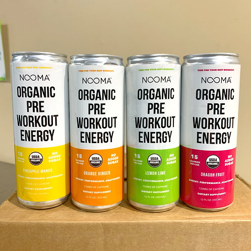 Nooma Organic Pre Workout Energy Drink