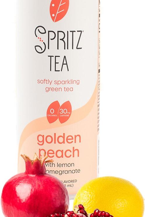 Spritz Sparkling Green Tea - Golden Peach