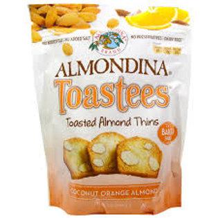 Almondina Coconut Orange Almond Toastees
