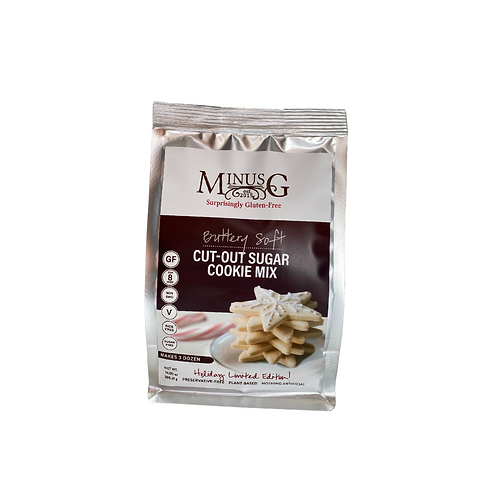 Minus G - Cut-Out Sugar Cookie Mix