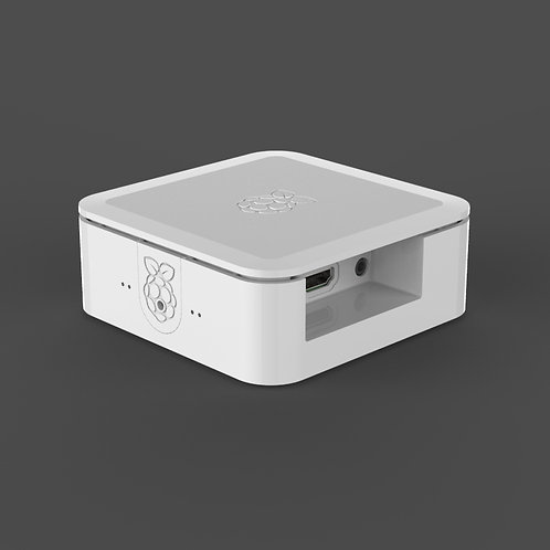 Quattro Case for Raspberry Pi (white)