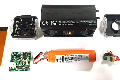 ActionCAM - NO Raspberry Pi or Camera board or SD Card