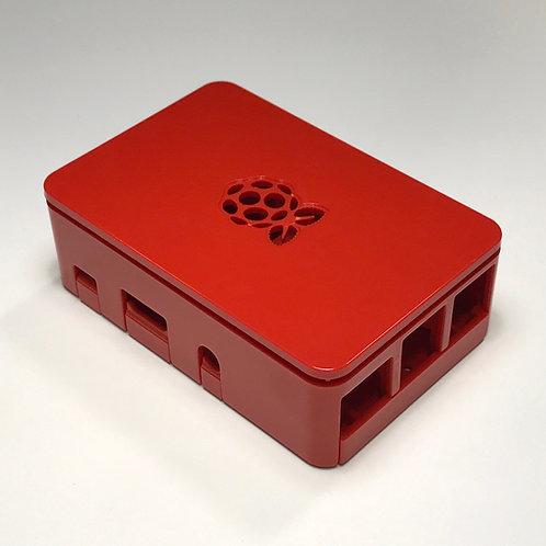 Raspberry Pi case (red)