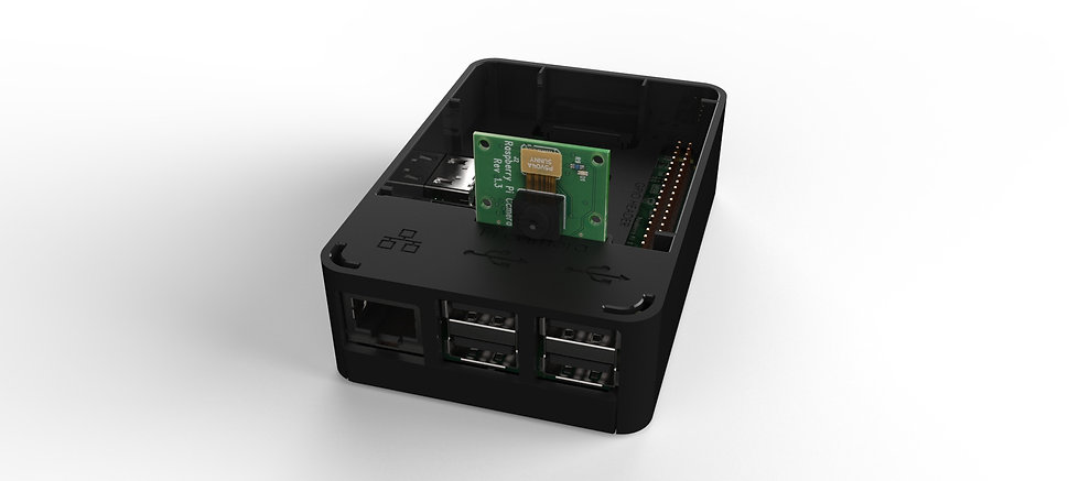 oneninedesign raspberry pi case with camera