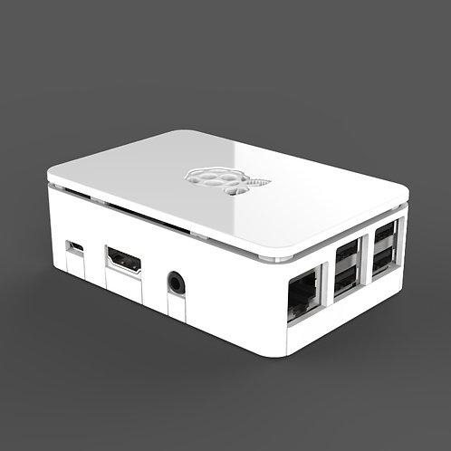 Raspberry Pi case (white)