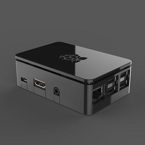 Raspberry Pi case (black)