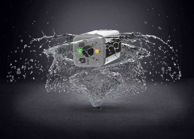 oneninedesign raspberry pi action camera splash proof
