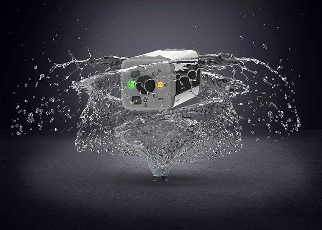 oneninedesign raspberry pi action camera splash proof
