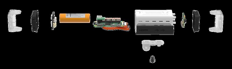 oneninedesign ActionCAM components