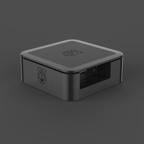 Quattro Case for Raspberry Pi (black)