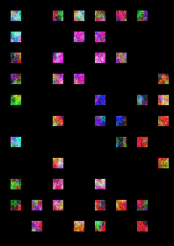 "Gregor Schneider, ""Cubic Colour"", 2015, c-print on aludibond, 50 x 75 cm, e.a. © Gregor Schneider, 2015 / Courtesy Pelz Collection, Stuttgart, Germany"