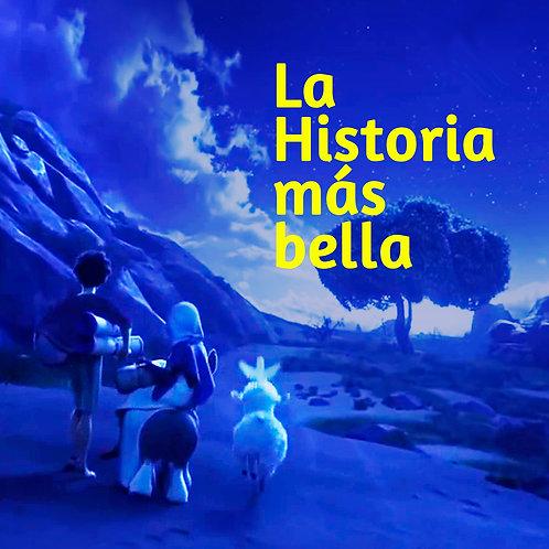 """CD musical """"La Historia más bella"""""""