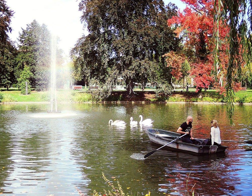 Parc de l'Orangerie - Strasbourg