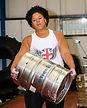 Andrea Thompson barrel loading race