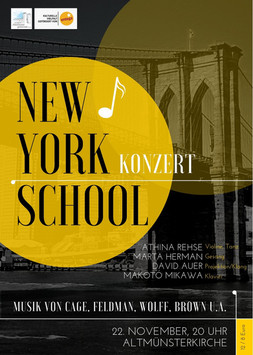 New York School Konzert in Mainz 2019