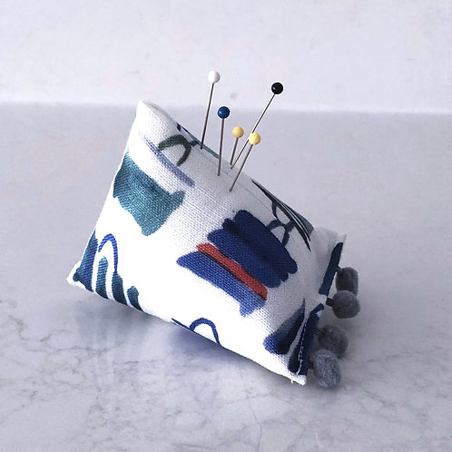 Blue Totes Pin Cushion