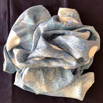 valerie june moon silk scarf