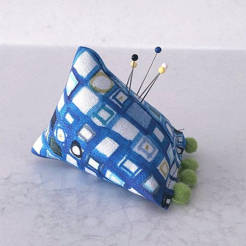 Blue Mosaic Pin Cushion