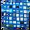 Thumbnail: Blue Mosaic Lavender Pouch