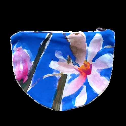 Star Magnolia Zip Pouch