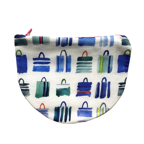 Blue Totes Zip Pouch