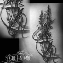 Secret Store Tattoo  荔枝角安泰工業大廈A座5樓06室 Unit 06, 5/F, Block A,  Alexandra Industrial Building,  Lai Chi Kok, Hong Kong