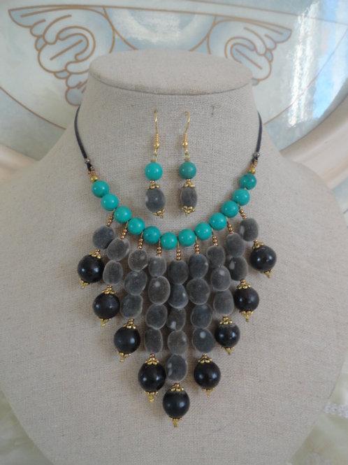 Parure Zara turquoise
