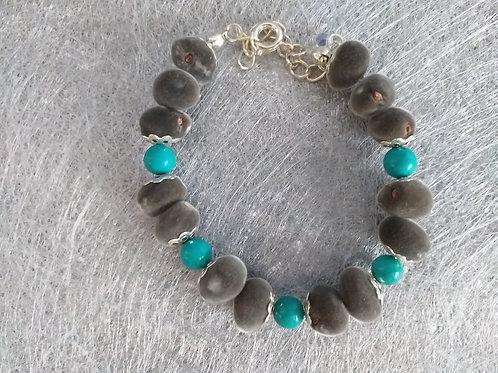 Zanzi-turquoise-argent