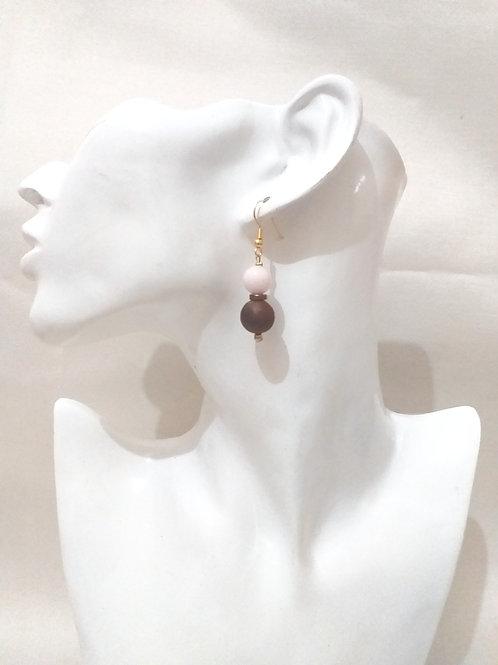 Bo palmier quartz rose