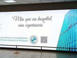 The Panama Clinic  стала первой больницей в Панаме прошедшая сертификацию TEMOS