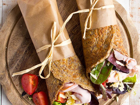 Flax seed Wraps/Rolls (Vegan free and Gluten Free)