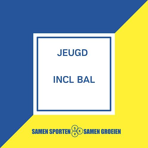 Inschrijving Jeugd INCL. bal