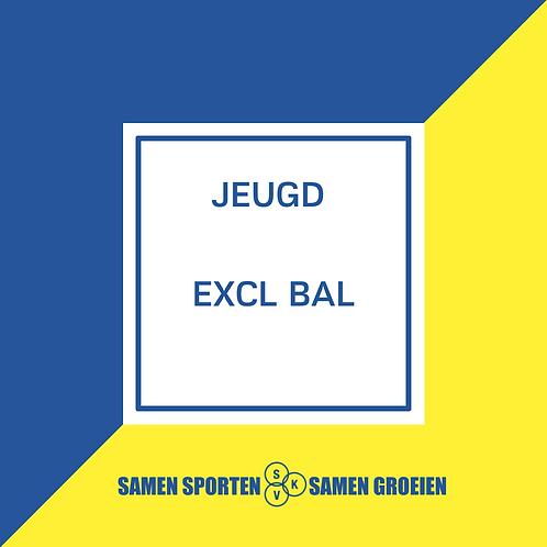 Inschrijving Jeugd EXCL BAL