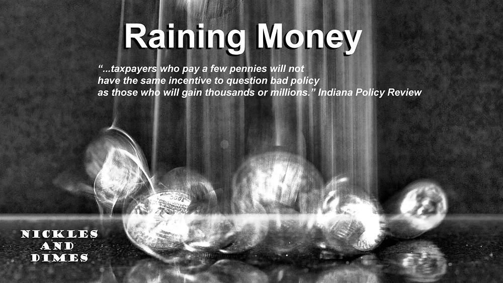 Raining Money Fishers Indiana