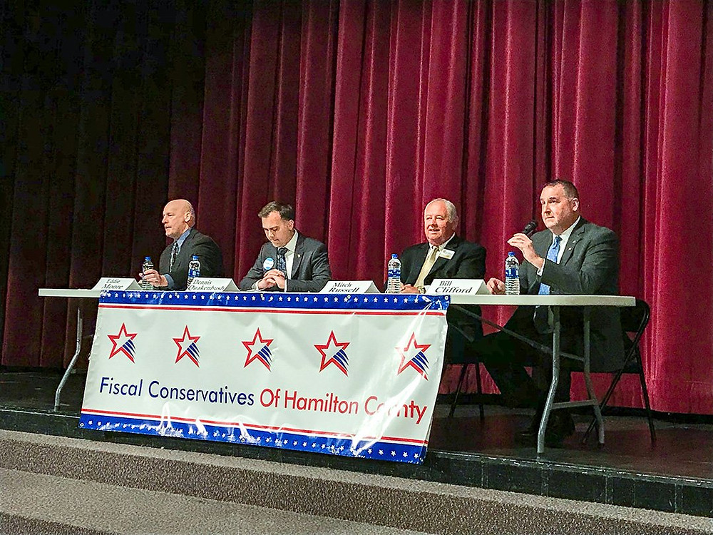 2018 Sheriff Forum by Fiscal Conservatives of Hamilton County