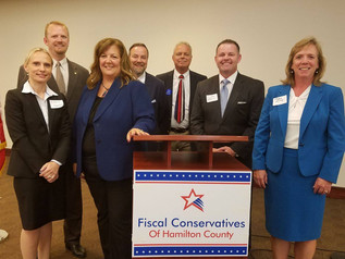 Fiscal Conservatives of Hamilton County holds District 20 candidate panel