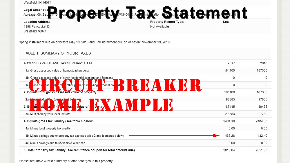 Tax Saving Example