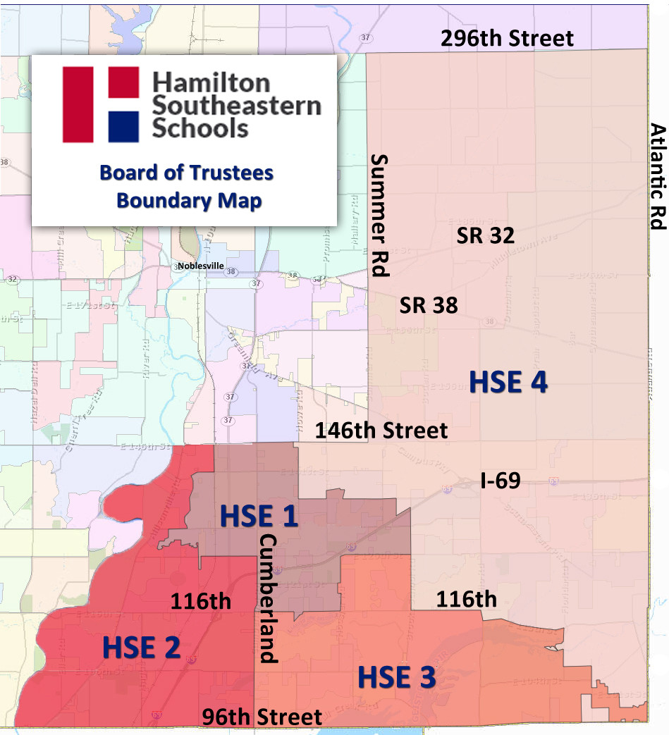 HSE Board of Trustee Boundary Map